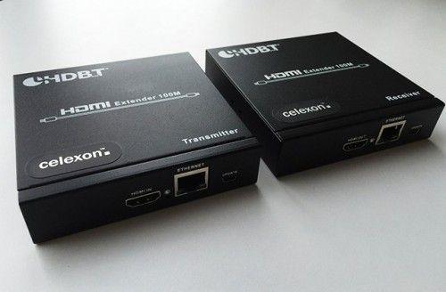 celexon Exeter HDBaseT Cat Extender Set