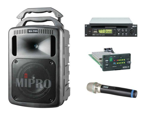 MIPRO MA-708 Mobiles Lautsprechersystem im Bundle