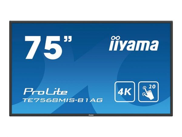 "iiyama ProLite TE6568MIS-B1AG LCD Touch Display 74,5"""