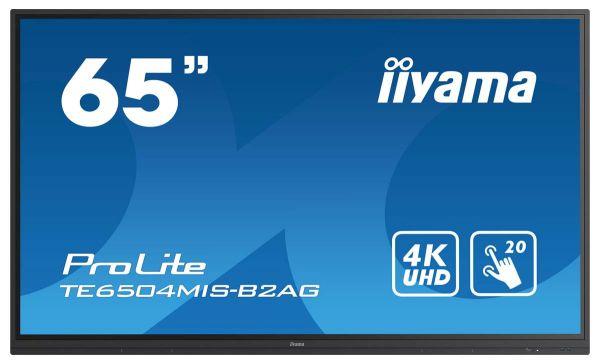 iiyama ProLite TE6504MIS-B2AG Interaktives Touchscreen-Display der neuen 4er Serie