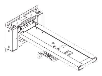 NEC 100013142 NP04WK Wandhalterung-Kit für UM Serien