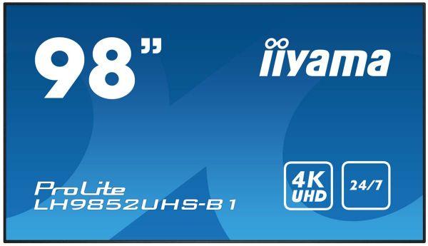 "iiyama ProLite LH9852UHS-B1 Professionelles 98"" Digital Signage Display"