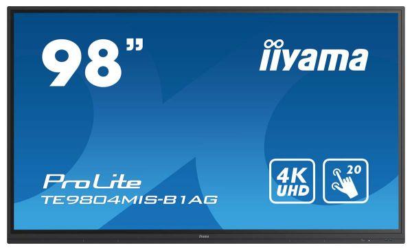 iiyama ProLite TE9804MIS-B1AG Interaktives Touchscreen-Display der neuen 4er Serie