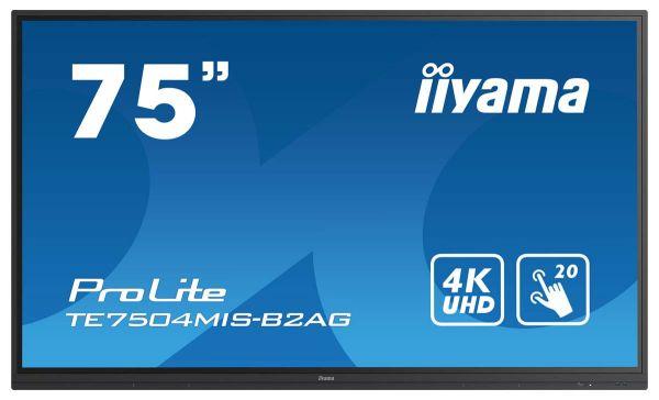 iiyama ProLite TE7504MIS-B2AG Interaktives Touchscreen-Display der neuen 4er Serie